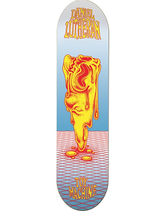 Toy Machine Lutheran Face Melt Pro Deck - 8.125""