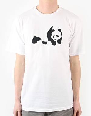 Enjoi Panda T-Shirt - White