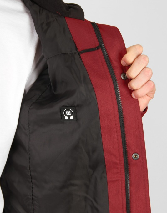 DC Forte 2013 Snowboard Jacket - Biking Red