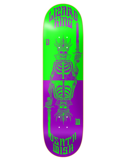 Deathwish Lizard King Cards Pro Deck - 7.875""