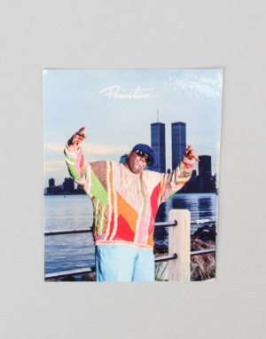 Primitive x Notorious B.I.G. Biggie Twin Towers Sticker