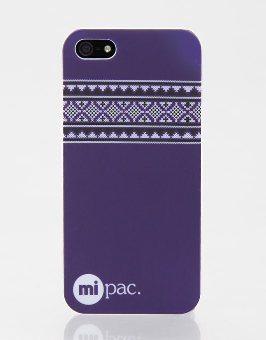 Mi-Pac Nordic iPhone 5 Hardcase - Purple