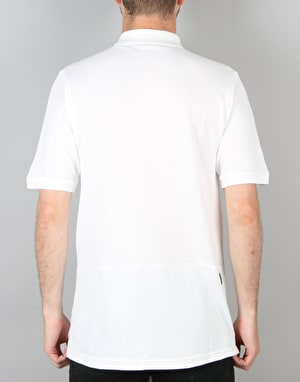 Nike SB Dri-FIT Pique Polo Shirt - White/White
