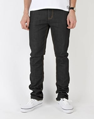 Route One Skinny Denim Jeans - Rigid Indigo