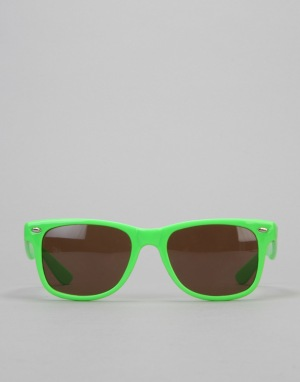 Chocolate Chunk Sunglasses - Green
