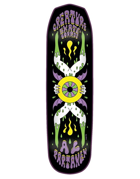 Creature Partanen Shakra Skateboard Deck - 8.2""