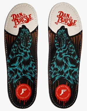 Footprint Brisse Kingfoam Orthotic Insoles