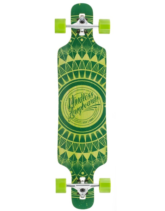 "Mindless Sanke II Drop Through Longboard - 39"" x 9.5"""
