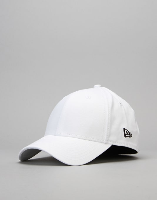 New Era 39Thirty Flag Collection Cap - White/Black