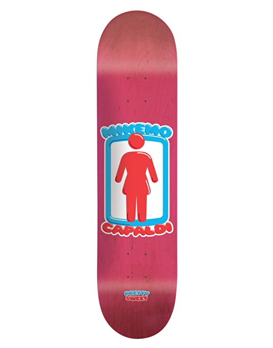 Girl Mike Mo Pretty Sweet Pro Deck - 8""