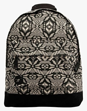 Mi-Pac Alpine Backpack - Black/Cream