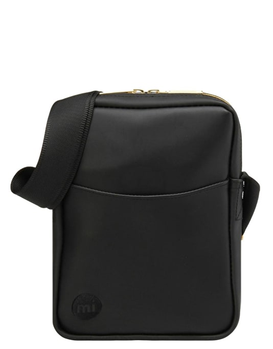 Mi-Pac Rubber Flight Bag - Black