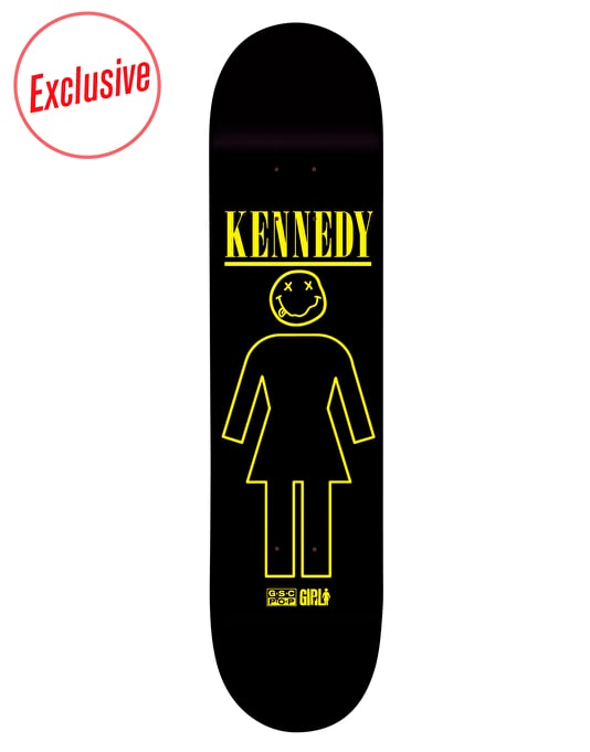 Girl R1 Exclusive Kennedy Nevertrend Pro Deck - 8""