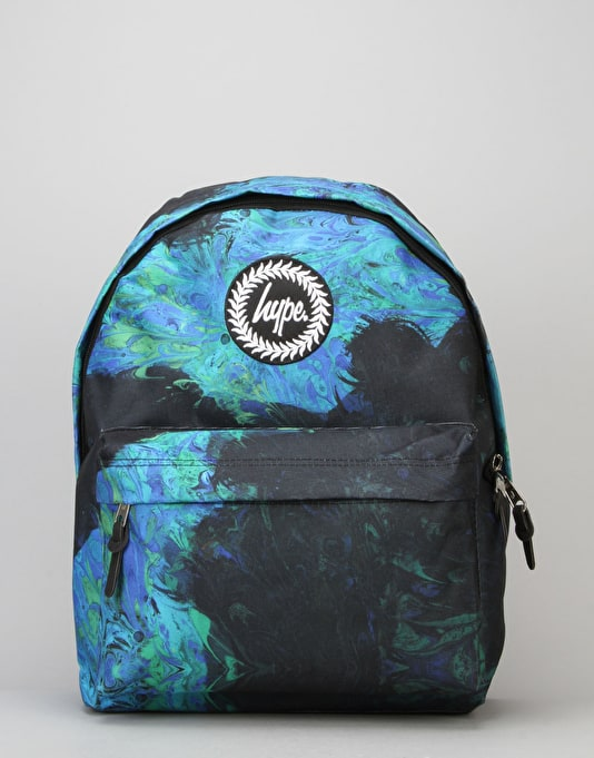 Hype Seaweed Backpack - Black/Blue