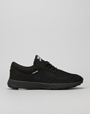 Supra Hammer Run Shoes - Black/Black/Black