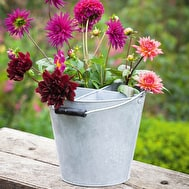 Zinc Divided Flower Bucket