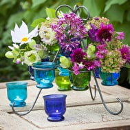 Glass Vases for the Auricula Stand