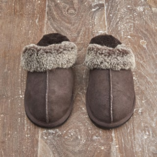 Sheepskin Open-backed Slippers