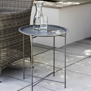 Round Bistro Tray Table