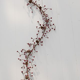 Berry and Pinecone Garland