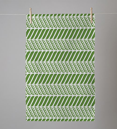 Peapod Tea Towel