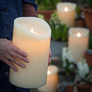 Huge Battery Pillar Candles