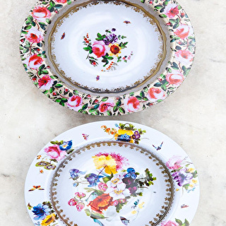 Decorative Tin Bowls