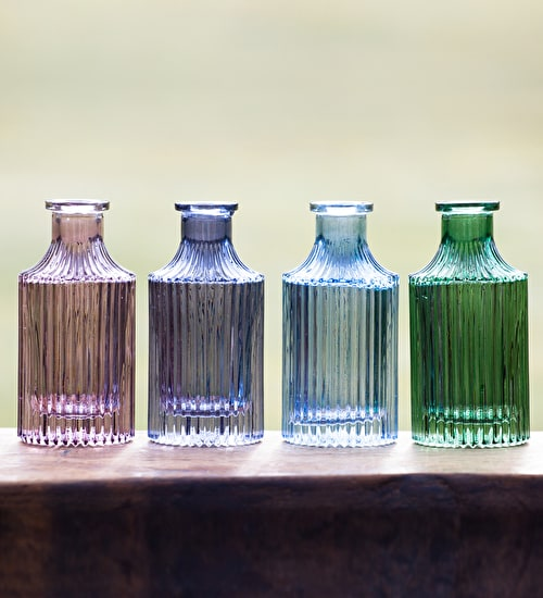 Colourful Bottle Vases