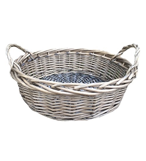 Round Willow Basket