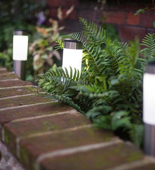 Solar Mini Border or Path Lights