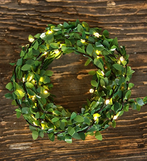 Green Garland Light String