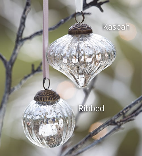 Antiqued Silver Baubles