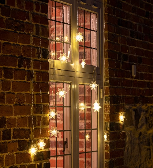 Snowflake Light Curtain
