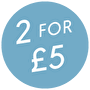 2 for £5