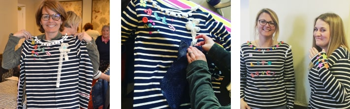 Seasalt Sailor Shirt customisation workshops