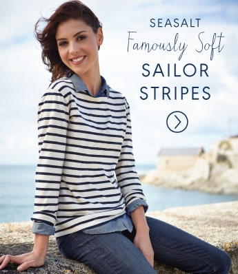 Seasalt famously soft striped sailor shirts