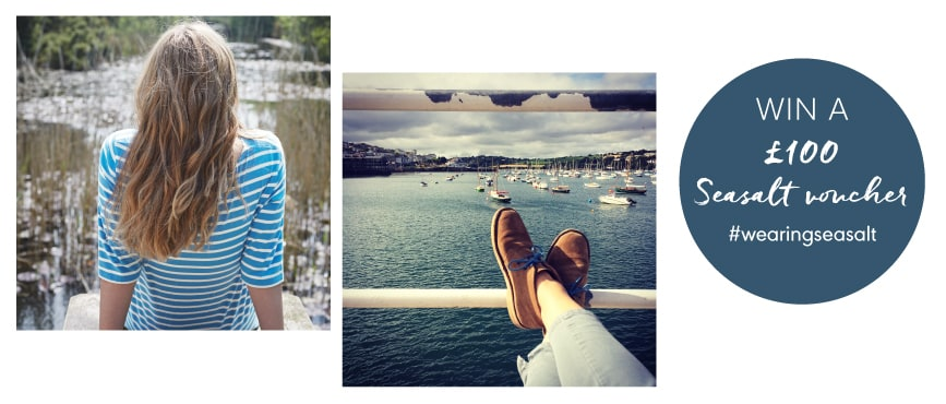 Win £100 by just posting a photo to instagram #wearing Seasalt.