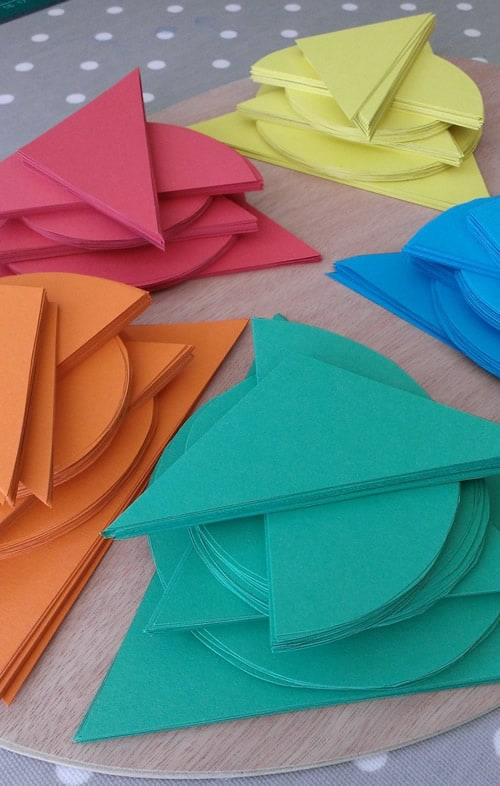 Seasalt Paper sails and markers