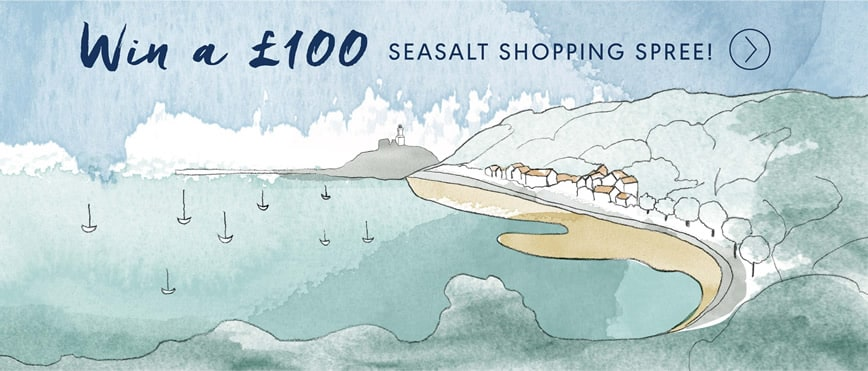Win a Shopping Spree in our new Seasalt Mumbles Shop!
