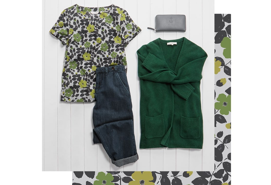 Spring buds print collection