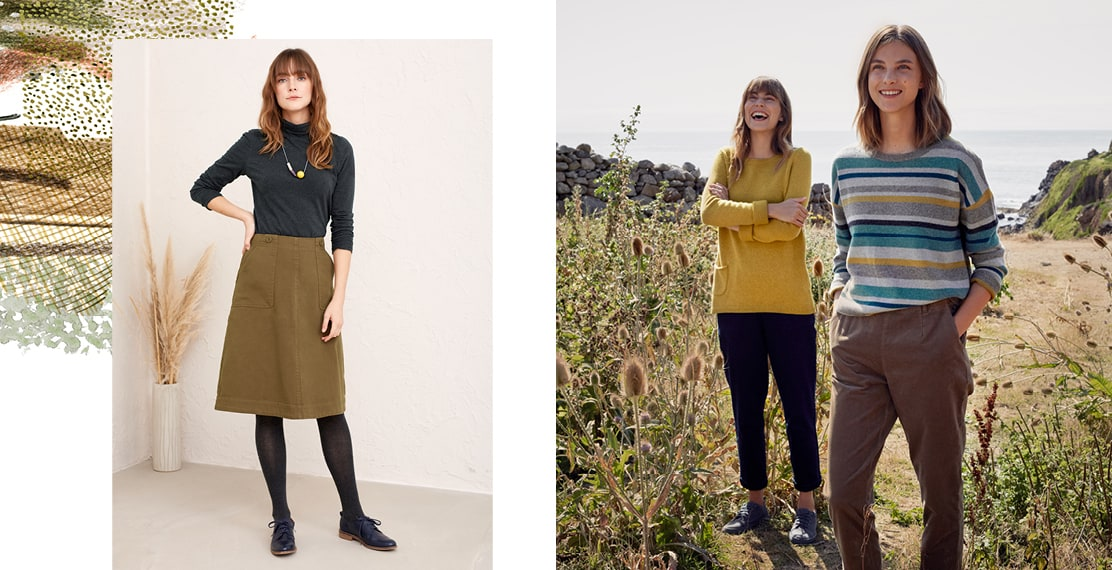 New knitwear for sunny winter days