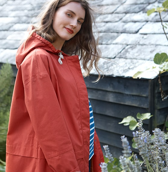 Red Seasalt Coat
