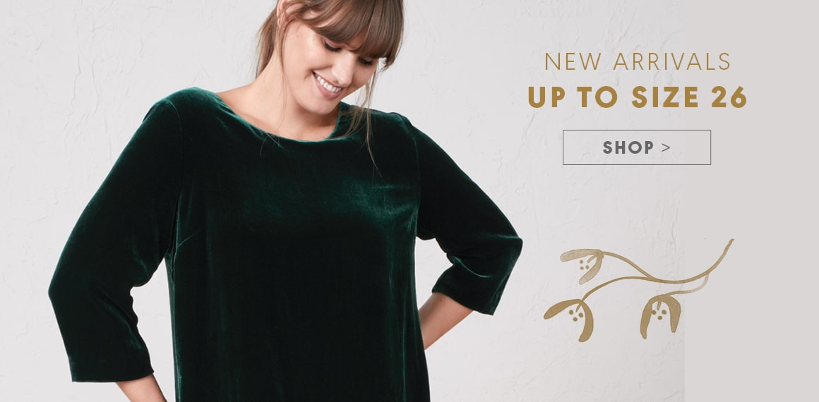 New Arrivals, Up to size 26 - Shop