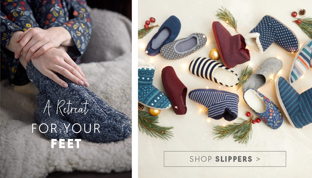 A selection of Seasalt Slippers