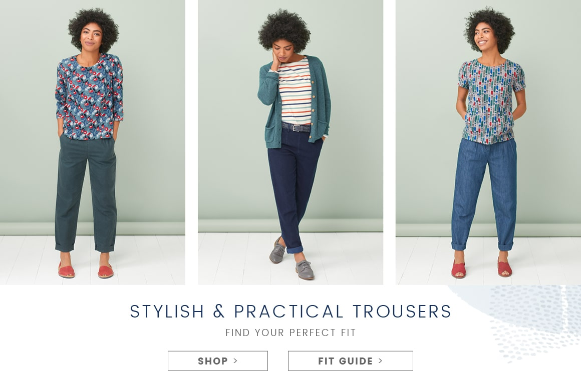 New trouser shapes