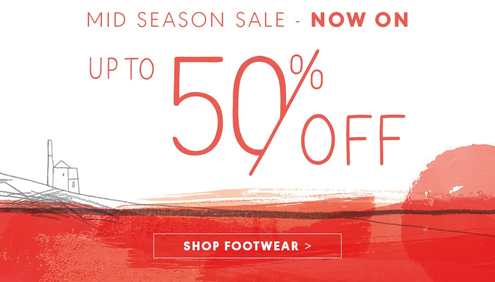 Mid Season Sale - Now On, Up to 50% off