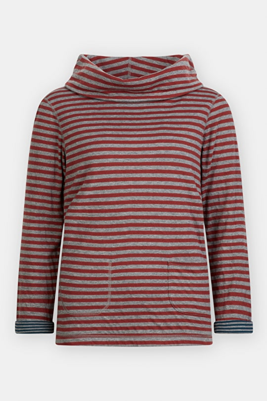 Reversible Four Winds Top. Two Striped Tops In One - Seasalt