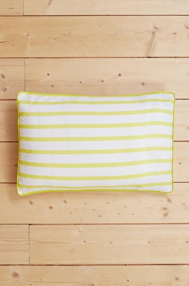 Yarn-Dyed Stripe Cotton Pillowcase