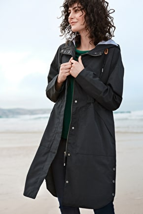 Long Waterproof Raincoat. Seasalt RAIN® Collection