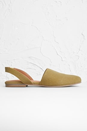 Derwa Shoe, Low-Heeled Canvas Slingback Shoes - Seasalt Cornwall